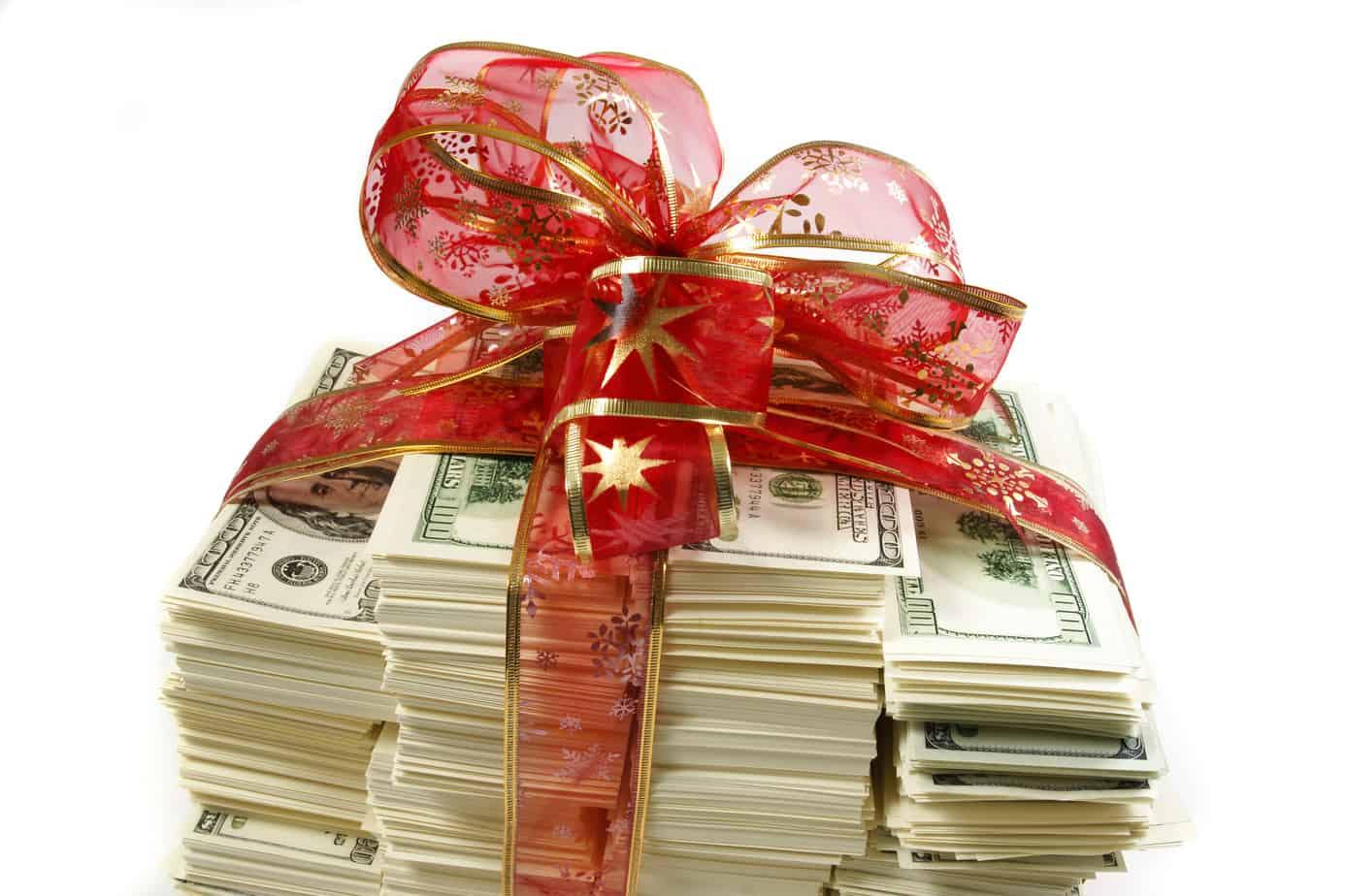 I gave my kids $200,000 for Christmas!